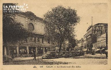 Cl 04 123 Caen- Boulevard des Alliés