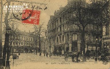 Cl 04 126 Caen- Les boulevards