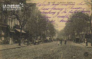 Cl 04 128 Caen- Le boulevard St-Pierre