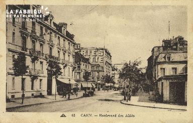 Cl 04 131 Caen- Boulevard des Alliés