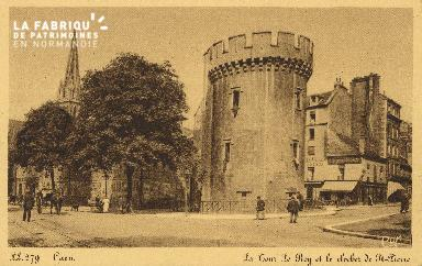 Cl 04 148 Caen- La tour Leroy et le Clocher St-Pierre