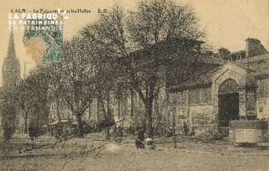 Cl 04 151 Caen-La poissonnerie et les Halles