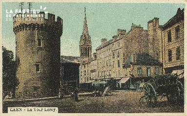 Cl 04 161 Caen- La tour Leroy