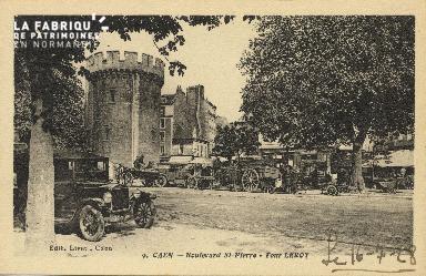 Cl 04 162 Caen- Boulevard St-Pierre- La tour Leroy