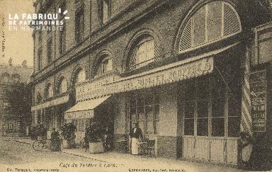 Cl 04 165 Caen- Café du Théâtre