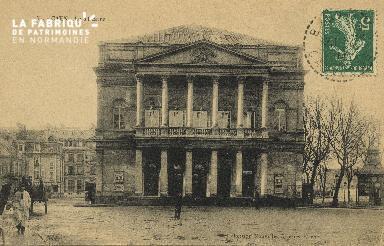 Cl 04 168 Caen- Le théâtre