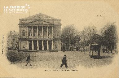 Cl 04 169 Caen- Place du théâtre