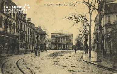 Cl 04 170 Caen- Boulevard du théâtre
