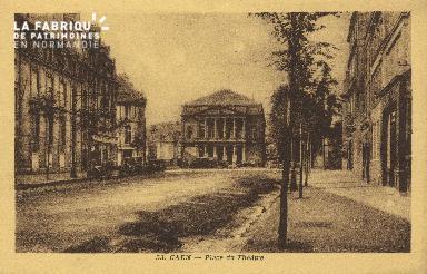 Cl 04 171 Caen- Place du théâtre