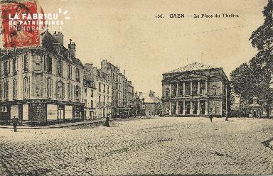 Cl 04 172 Caen- Place du théâtre