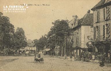 Cl 04 173 Caen- Place du théâtre