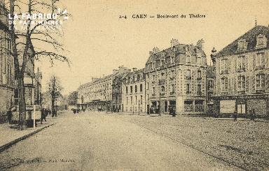 Cl 04 174 Caen-Boulevard du théâtre