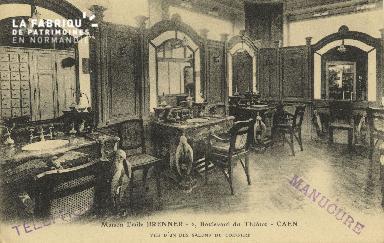 Cl 04 177 Caen- Maison Emile BRENNER, 2 Boulevard du Théâtre