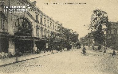 Cl 04 180 Caen- Le boulevard du théâtre