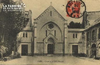 Cl 04 186 Caen- Oasis - La Chapelle de la St-Fammille