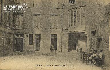 Cl 04 187 Caen- Oasis- Cour du 32