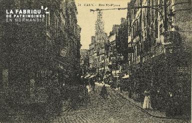 Cl 04 194 Caen- Rue St-Pierre