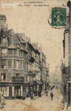 Cl 04 195 Caen- Rue St-Pierre