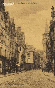Cl 04 199 Caen- Rue St-Pierre
