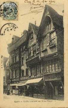 Cl 04 209 Caen- Vieille Maison Rue St-Pierre