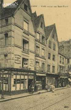 Cl 04 210 Caen- Vieille Maison Rue St-Pierre