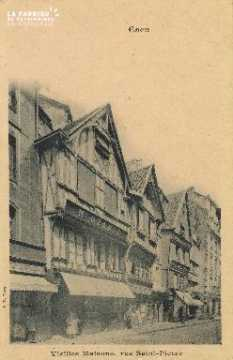 Cl 04 213 Caen- Vieille Maison Rue St-Pierre