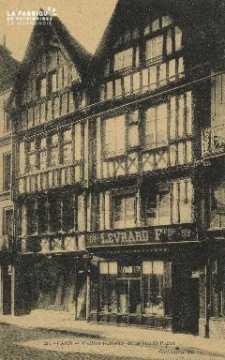Cl 04 214 Caen- Vieille Maison Rue St-Pierre