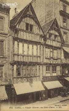 Cl 04 215 Caen- Vieille Maison Rue St-Pierre
