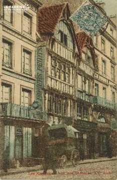 Cl 04 216 Caen- Les Maison de bois Rue St-Pierre