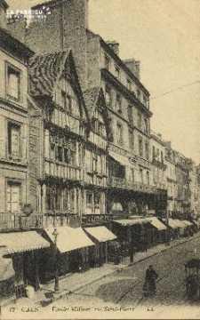 Cl 04 218 Caen- Vieille Maison Rue St-Pierre