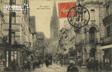 Cl 04 220 Caen- Rue St-Pierre