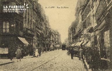 Cl 04 221 Caen- Rue St-Pierre
