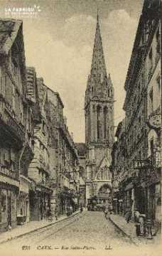 Cl 04 223 Caen- Rue St-Pierre