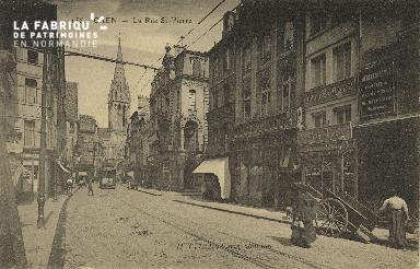 Cl 04 225 Caen- Rue St-Pierre