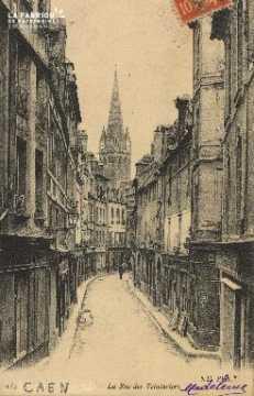 Cl 04 229 Caen- La Rue des Teinturiers