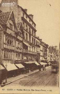 Cl 04 230 Caen- Vieilles Maisons, Rue St-Pierre