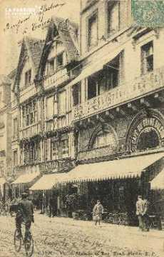 Cl 04 232 Caen- Vieilles Maison de bois, Rue St-Pierre