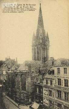Cl 04 235 Caen- Eglise de St-Sauveur (Autrefois N.-D. de Froide Rue)