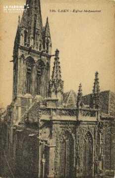 Cl 04 238 Caen- Eglise St-Sauveur