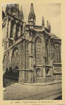 Cl 04 240 Caen- Eglise St-Sauveur