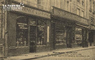 Cl 04 246 Caen- Phramacie Dupont, 68 Rue St-Pierre