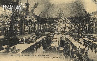 Cl 04 247 Caen- Café du Grand Balcon- La grande Salle