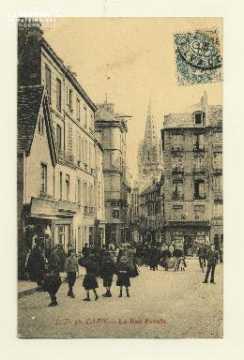Cl 04 249 Caen- La rue Froide