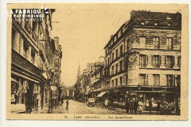 Cl 04 251 Caen- Rue St-Pierre