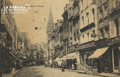 Cl 04 252 Caen-  Rue St-Pïerre