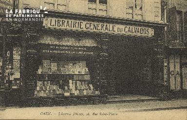 Cl 04 253 Caen- Librairie JOUAN, 98 Rue St-Pïerre