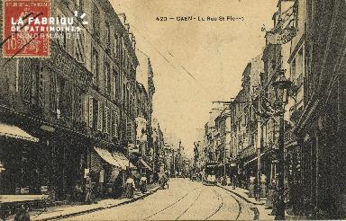 Cl 04 256 Caen- La  Rue St-Pïerre