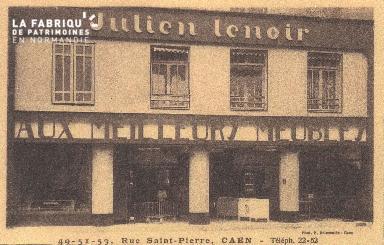Cl 04 259 Caen- Rue St-Pierre