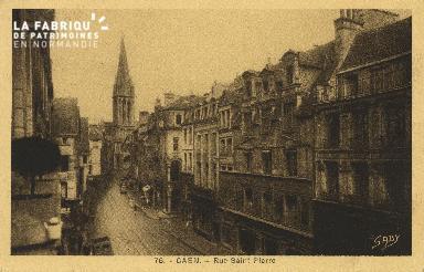 Cl 04 261 Caen- Rue st-Pierre
