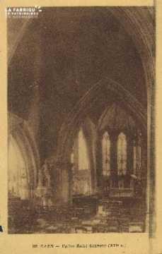 Cl 04 263 Caen- Eglise St-Sauveur